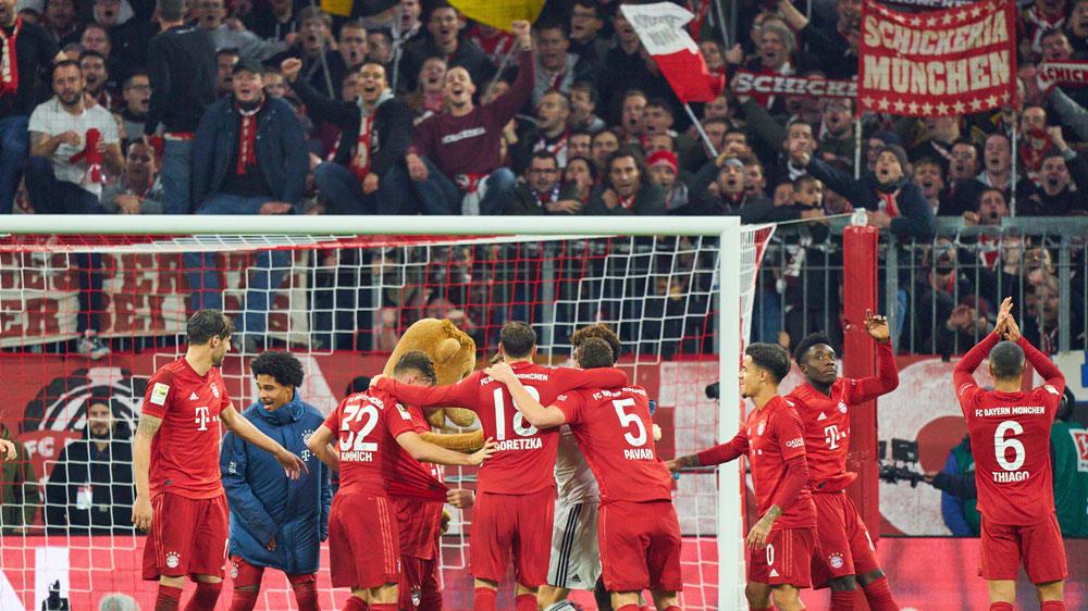Jubelnde Bayern