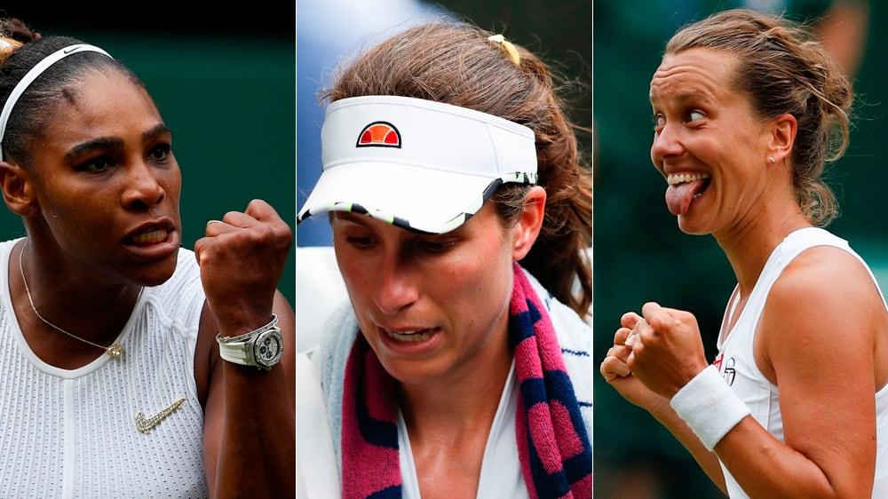 Serenas Emotionen und eine tschechische Spielverderberin