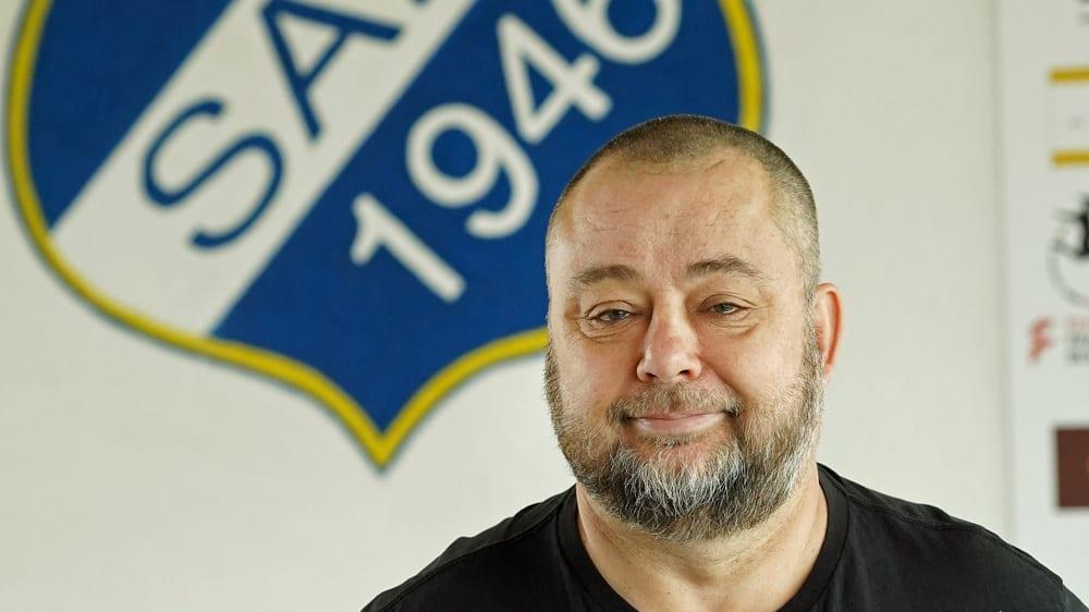 Der neue Coach des SC Sand: Sven Thoss.