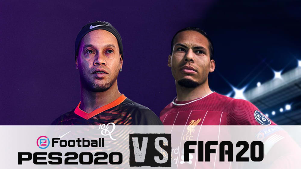FIFA 20 vs. eFootball PES 2020: Die wichtigsten Kategorien im direkten Vergleich kompakt zusammengefasst