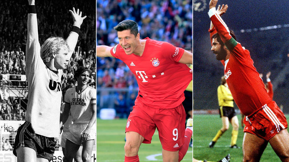 Toptorjäger der Bundesliga