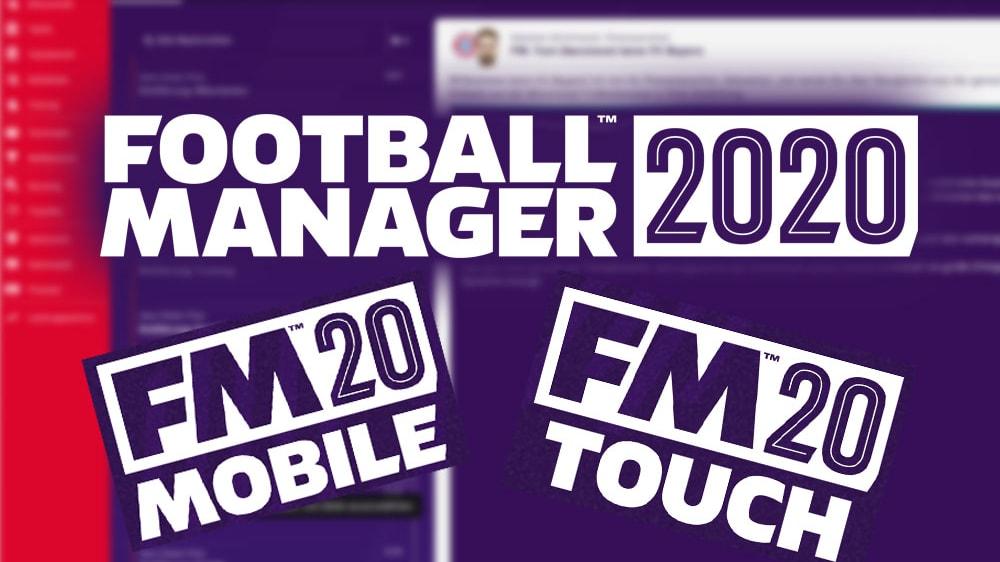 Was sind die Unterschiede zwischen Football Manager 2020 Touch und PC? Wir haben nachgefragt.