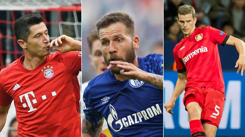 Die Topwerte der Bundesliga