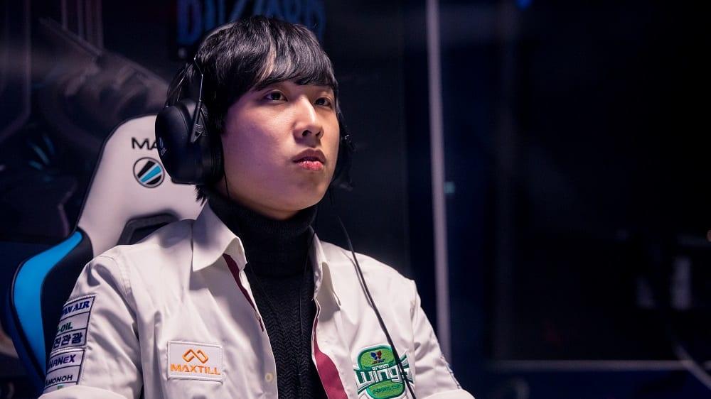 Sung Ho 'Trap' Cho kann am Samstag seinen ersten GSL-Titel gewinnen.