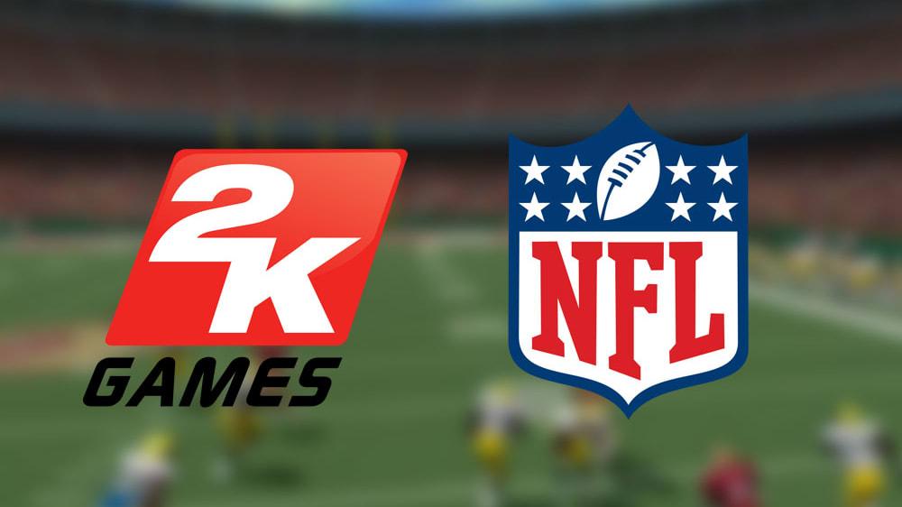 2K und die NFL kündigen eine Partnerschaft für Football-Spiele an