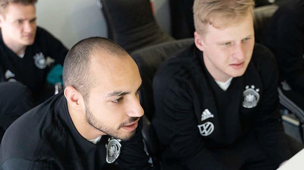 Mohammed 'MoAuba' Harkous (l.) und Michael 'MegaBit' Bittner (r.) sind erneut nominiert für die eNationalmannschaft.