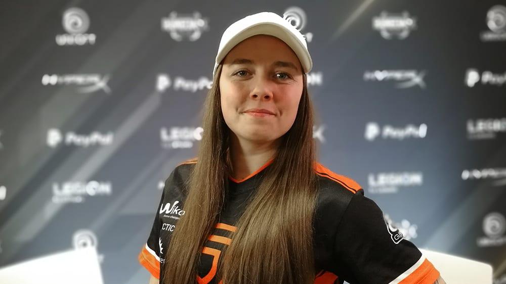 Die junge Australierin Jessica Bolden soll es für PENTA Sports richten.