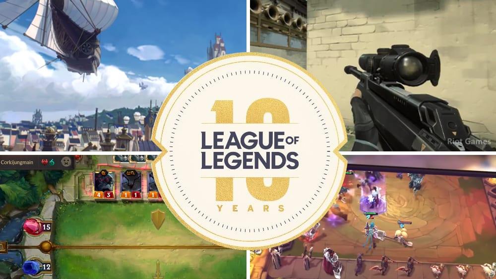Riot Games präsentierte anlässlich des zehnten Jubiläums von League of Legends viele Neuerungen.