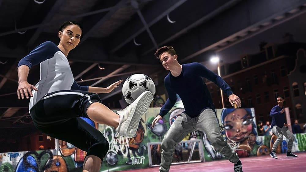 Im neuen FIFA 20-Modus könnt Ihr auswählen, ob Ihr als Mann oder Frau auf den Platz gehen wollt.