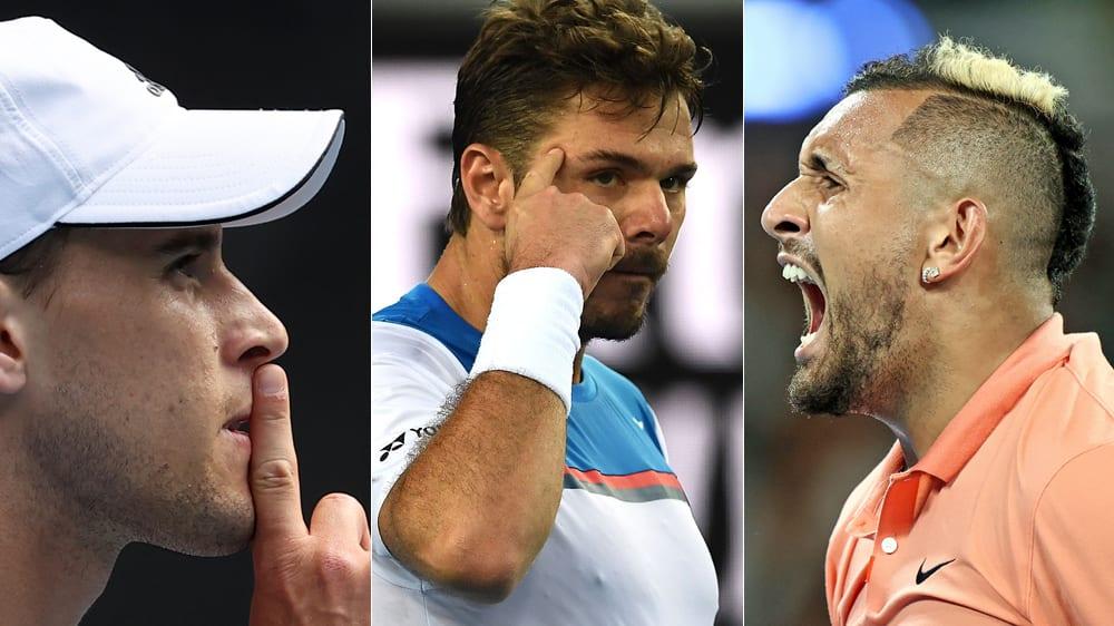 Bilder zum 4. Tag der Australian Open