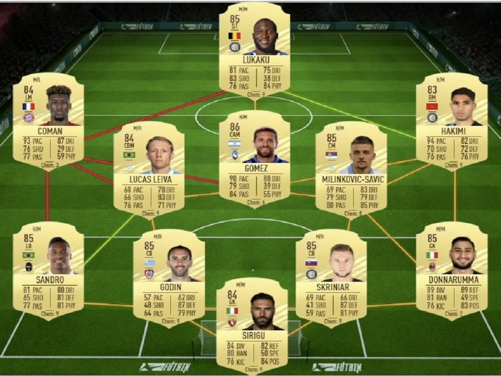 FIFA 21: Bundesliga POTM Robert Lewandowski SBC-Lösung ...