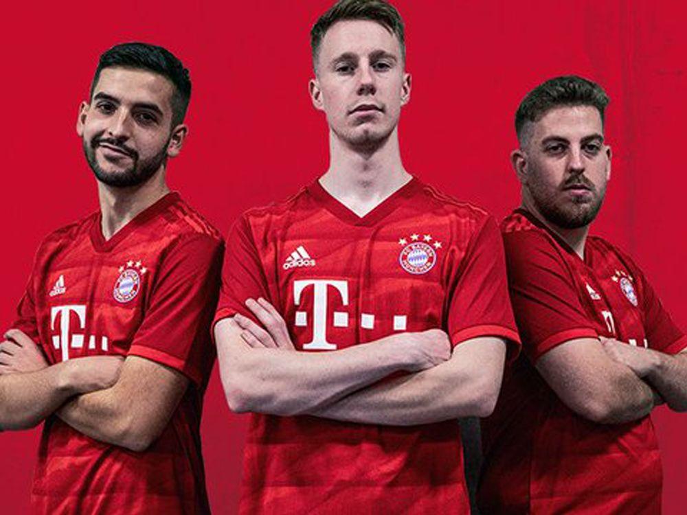 Alejandro Alguacil, Miguel Mestre und José Carlos Sánchez (v.l.n.r.) bilden den Kader des FC Bayern München.