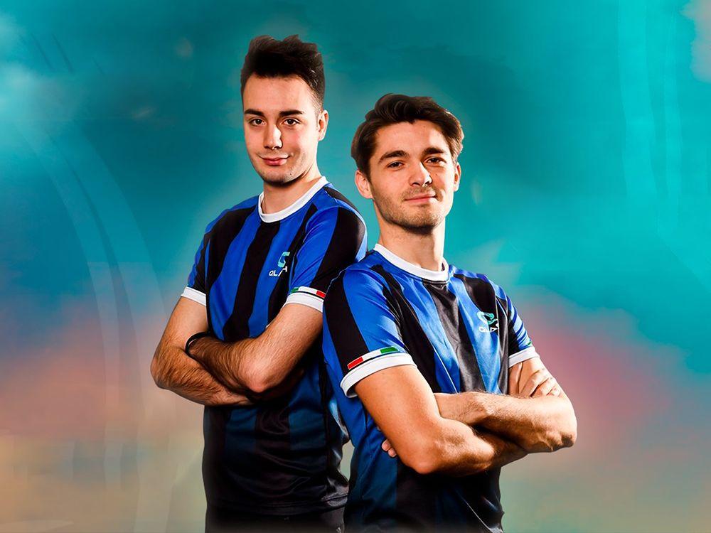 Das neue Trikot von Team QLASH erinnert bereits an Inter Mailand.