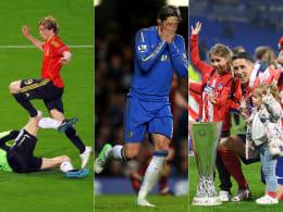 Hoch geflogen, tief gefallen: Fernando Torres' Karriere in Bildern