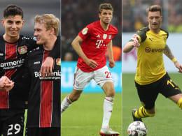Toptalent Havertz vor Brandt - Nur Reus vertritt BVB-Farben