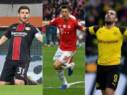 Lewandowski verpasst Weltklasse - Absteiger Paco Alcacer