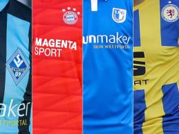 Die Trikots der Drittligisten 2019/20