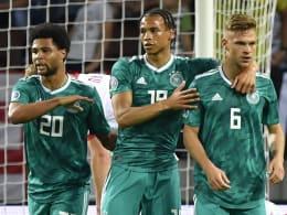Sané schlenzt, Neuer hält: Deutschland schlägt Weißrussland