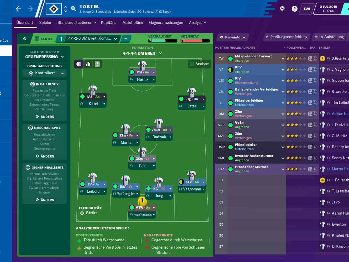 Football Manager 2020 Im Test Kicker
