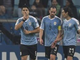 Uruguay kommt zweimal zurück - und ist doppelt im Pech