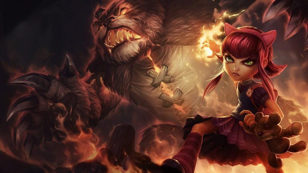 Annie besitzt starke magische Fähigkeiten und bekleidet in LoL darum häufig die Rolle des Mid-Laners als APC