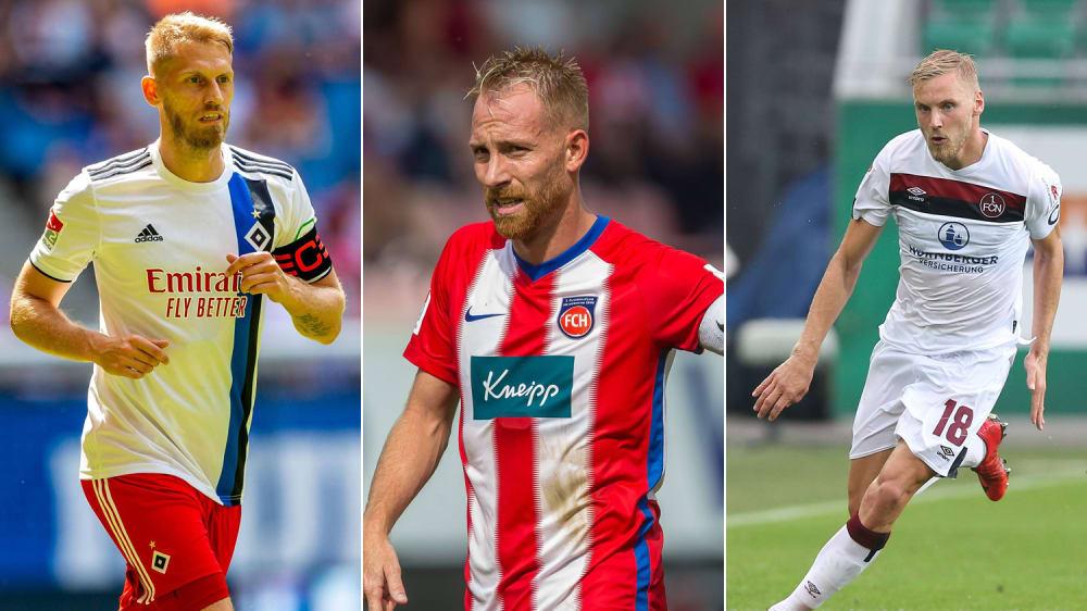 Aaron Hunt, Marc Schnatterer, Hanno Behrens (v.li.)