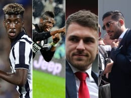 Erstaunliche Liste: Diese Spieler holte Juventus alle ablösefrei