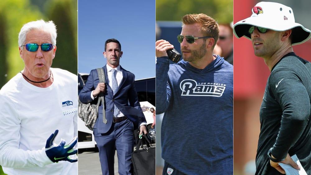 Die Head Coaches und Coordinators der 32 NFL-Teams