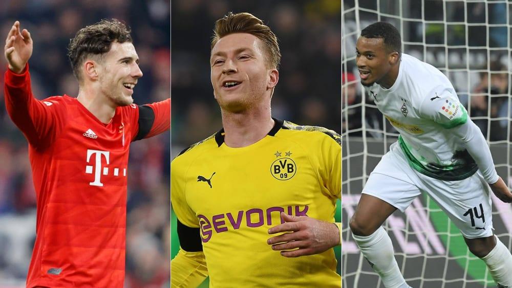 Fünfmal Bayern, dreimal BVB: Die kicker-Elf des Spieltags - Ein Debütant dabei