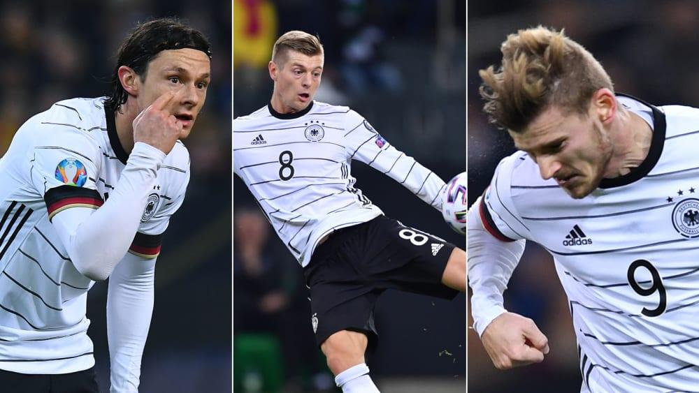 Drei Einser, eine Fünf: Die Noten der DFB-Auswahl - Das Zeugnis zum 4:0 gegen Weißrussland