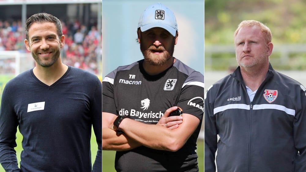 Neues Gesicht Schommers: Die Trainer in der 3. Liga