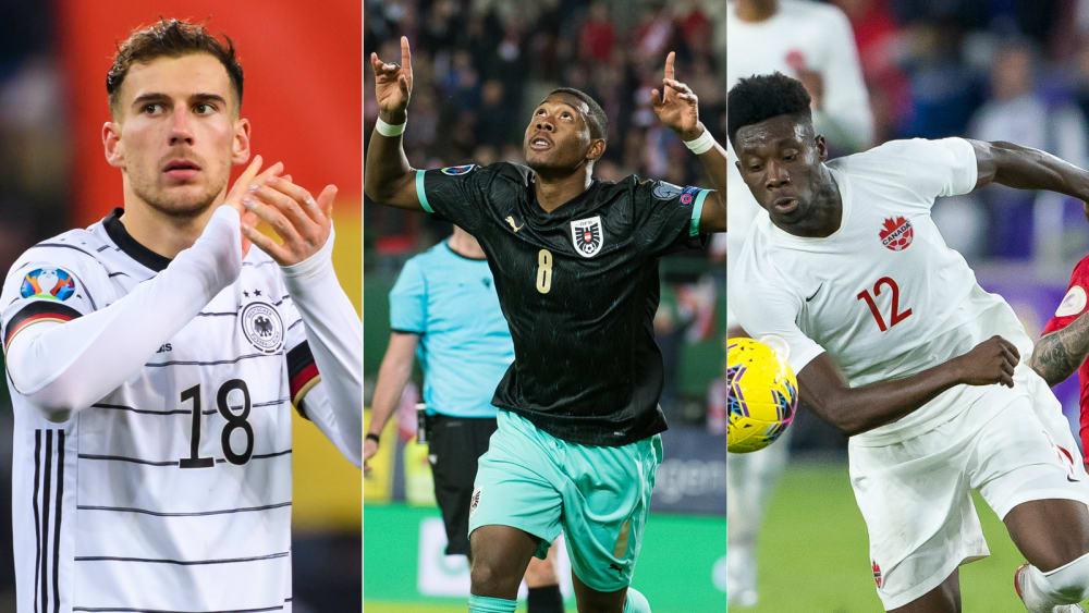 Teilzeitjobs für Coutinho und Lewandowski - ein Trio trifft - Alle Bayern fahren zur EM: Ihre Auftritte im Nationalteam