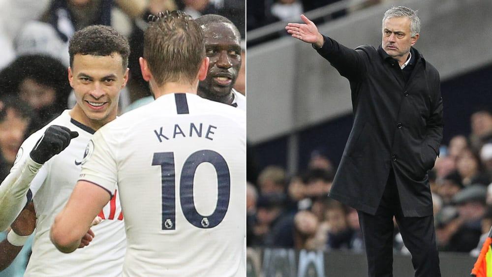 Dele Alli und Harry Kane trafen für die Spurs gegen Brighton - José Mourinho hatte vor dem Spiel für Furore gesorgt