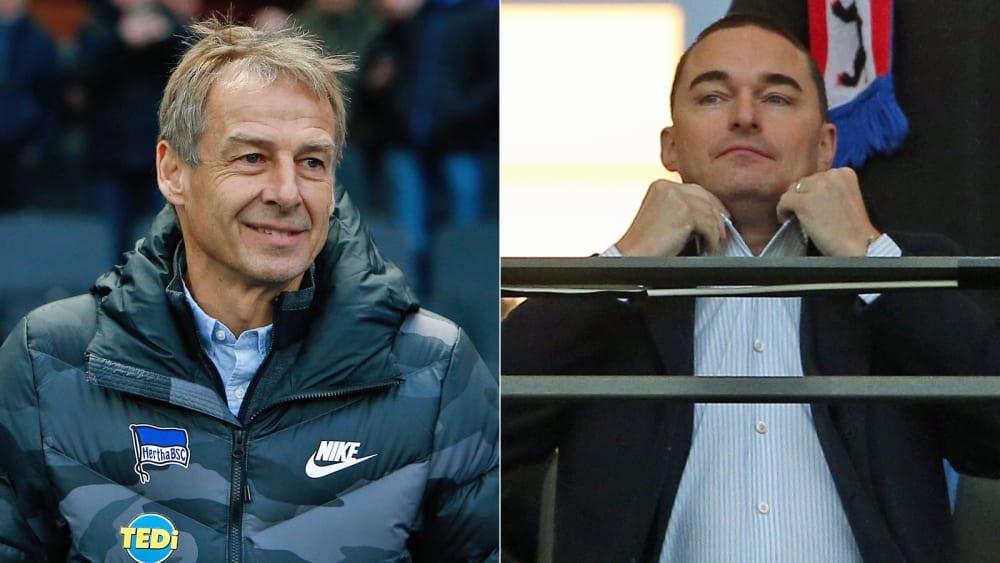"Klinsmann lobt Investor Windhorst: ""Ist für Hertha phänomenal"" - Florida-Trip im Januar wird verkürzt"