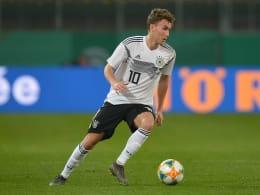 3:2 im Test gegen Polen: Waldschmidt trifft doppelt