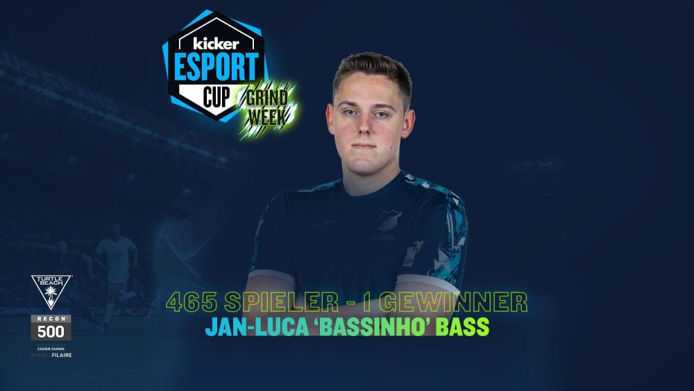 TSG pro 'Bassinhoo' wins the final of the kicker eSport Grind Week