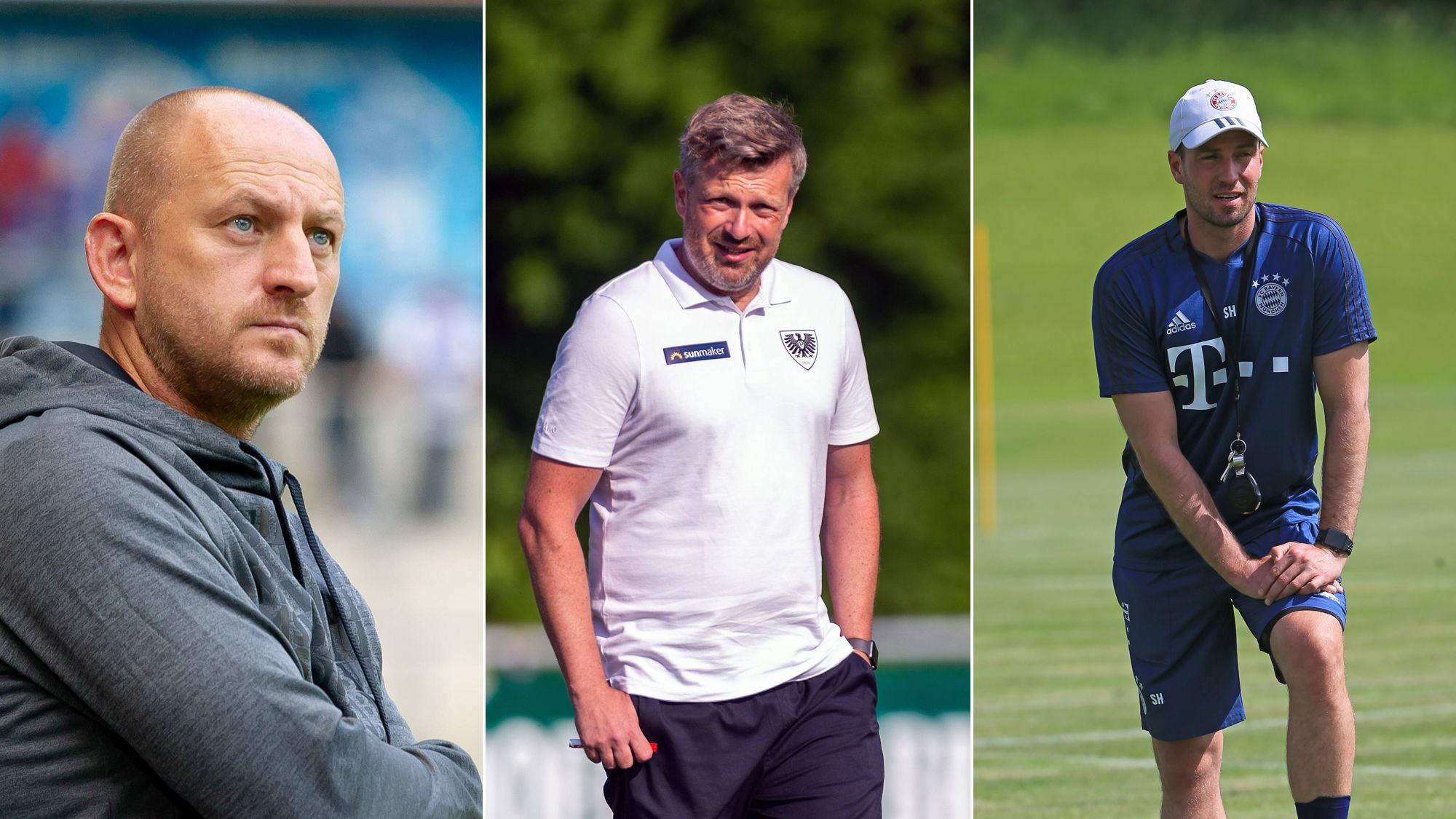 Wer zählt zu den Aufstiegsfavoriten? Das tippen die Trainer - 3. Liga | Bildergalerie - kicker