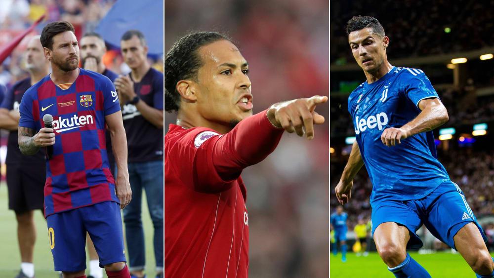 Europas Fußballer Des Jahres 2019 Wer Wo Landete