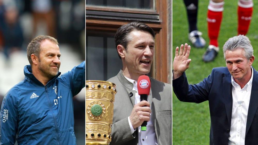 Hansi Flick, Niko Kovac und Jupp Heynckes
