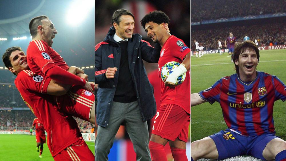 Mario Gomez, Serge Gnabry, Lionel Messi