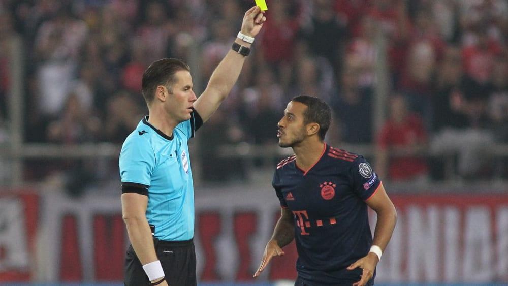 Gelbe Karten Champions League