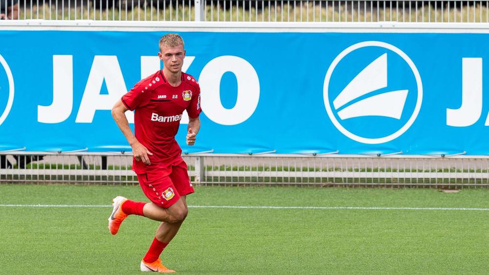 Offensivverteidiger: Daley Sinkgraven spielt bei Bayer Leverkusen wieder unter seinem ehemaligen Coach Peter Bosz.