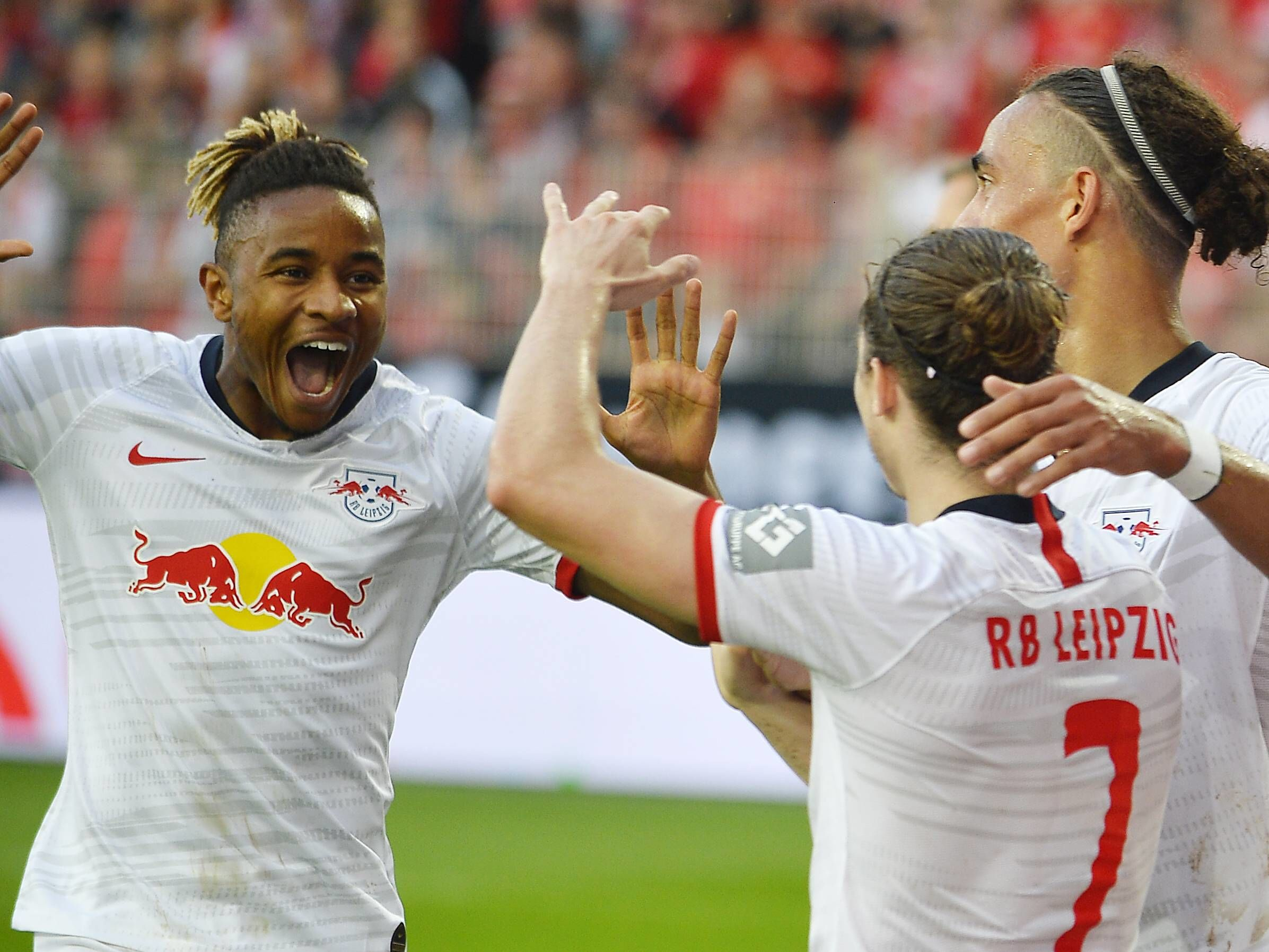 Jubelt RB Leipzig auch gegen Eintracht Frankfurt?