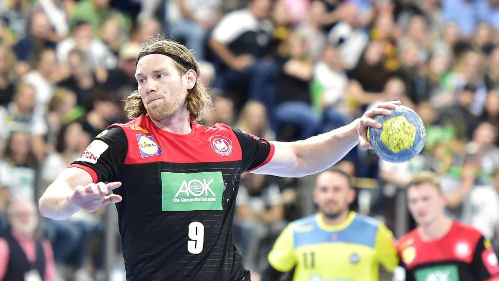 Siebenmeter-Spezialist: Tobias Reichmann feierte sein Comeback im DHB-Team.