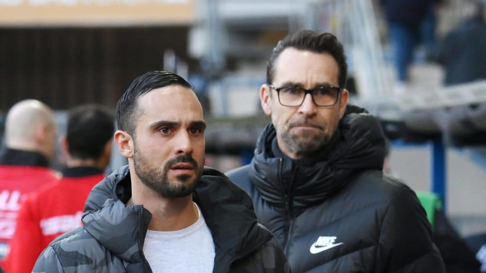 Alexander Nouri und Michael Preetz