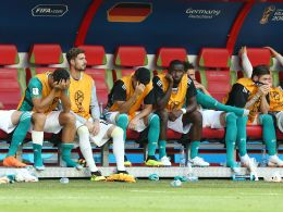 Enttäuschung bei den Nationalspielern nach dem WM-Aus gegen Südkorea