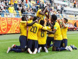 Große Freude: Ecuador steht bei der U-20-WM im Halbfinale.