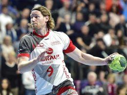 Er soll in Nürnberg sein Comeback in der Nationalmannschaft geben: Tobias Reichmann von der MT Melsungen.