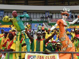 Fans beim Afrika-Cup