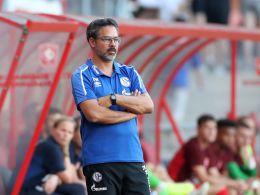 Weiß, dass die offensiven Abläufe noch besser werden müssen: Schalke-Coach David Wagner.